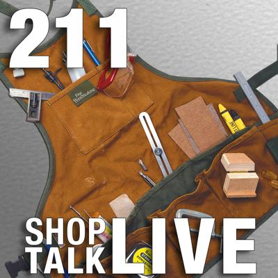 Cover art for STL211: Woodworker's aprons