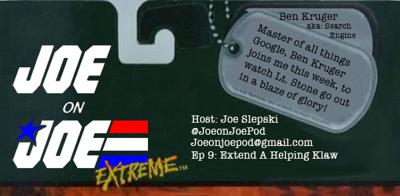 Cover art for Joe on Joe Extreme Ep 9: Extend A Helping Klaw w/ Ben Kruger