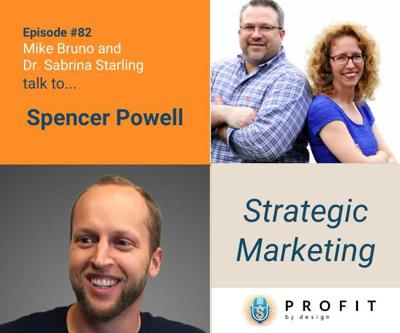 Cover art for 82: Strategic Marketing with Spencer Powell