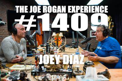 Cover art for #1409 - Joey Diaz