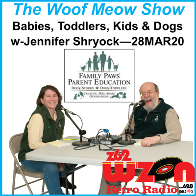 Cover art for Babies, Toddlers, Kids & Dogs with Jennifer Shryock from Family Paws Parent Education