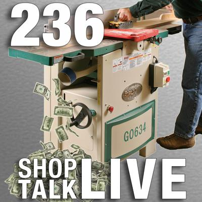 Cover art for STL236: Does a jointer save you money?