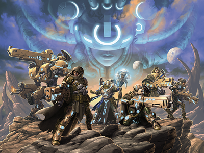 Cover art for D6G Pip 38: Warcaster Interview with Privateer Press