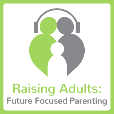 "What happens when two parent coaches, one a Christian and the other an agnostic Jew, sit down to talk about parenting? They take their listeners from surviving to thriving!  Our podcast is titled ""Raising Adults,"" arising from the fact that we've often been frustrated by the phrase ""raising children."" Instead, we hope to raise fully functioning, healthy, responsible, character-filled adults. You'll notice our revolutionary philosophy – Future Focused Parenting - takes center stage on the podcast, as we chat about relevant parenting issues with an eye toward the adults we want our children to become. Our podcast listeners will also hear us open every episode with our own personal ""why"" for the topic we're discussing. For a more thorough description of Future Focused Parenting, visit www.futurefocusedparenting.com"