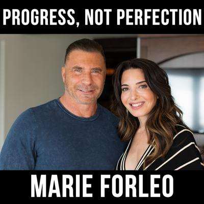 Cover art for Progress, Not Perfection- With Marie Forleo