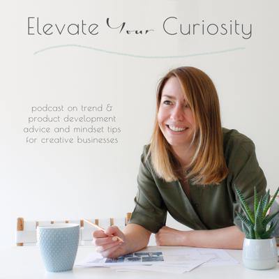 Elevate your Curiosity is a podcast for creative souls who are looking for an inspiration boost to enhance both their designs and mindset.   Hosted by Joanne Griffin, a designer and product development consultant for enthusiastic entrepreneurs at Arnold and Bird. With over a decade in e-commerce and trend forecasting, her passion is being your personal cheerleader in everything to do with trends and innovative product ideas. While easing any anxiety you have along the way.   Joanne will be sharing quick and relatable tips covering everything from spotting new trends, innovative new ideas and developing your product range. All underpinned with advice on how to take the anxiety out of decisions and empower you to trust your authentic voice.   Leave inspired and focused on elevating your curiosity everyday!