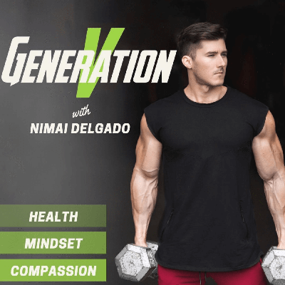 """Nimai Delgado is a vegan professional bodybuilder, mechanical engineer, lifestyle coach, and motivational speaker.  He's been featured on the cover of Muscle and Fitness magazine as well as James Cameron's upcoming documentary """"The Game Changers"""".  In this podcast, Nimai aims to bring a modern, more conscious perspective to health and fitness by sharing inspirational stories and knowledge from the younger generation of vegans who are on a mission to make a difference.  We are, Generation V."""
