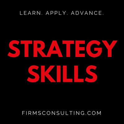 The Strategy Skills Podcast is the channel where strategy partners teach you the tools and techniques to solve mankind's greatest problems. Learn all the skills of McKinsey and BCG consultants without having to work at a consulting firm. The podcast teaches both technical analyses and soft skills like communication.  Each week we discuss concepts to help listeners advance their strategy, operations and implementation skills, enhance their critical thinking ability and build their executive presence. We also dissect individual consulting studies in great detail so you can replicate them with confidence.  www.firmsconsulting.com www.strategytraining.com