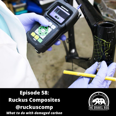 Cover art for Ruckus Composites -- What to do when you damage a carbon frame. Ask the experts.