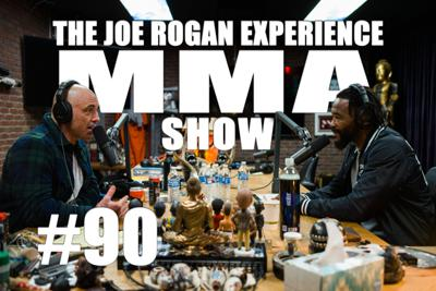 Cover art for JRE MMA Show #90 with Rashad Evans