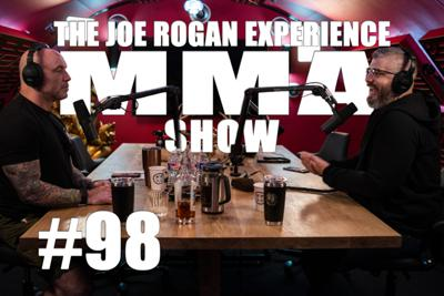 Cover art for JRE MMA Show #98 with Luke Thomas