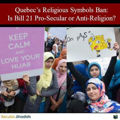Cover art for EP129: Quebec's Religious Symbols Ban ⚖️ Is Bill 21 Pro-Secular or Anti-Religion?