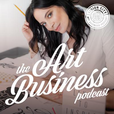 The Art Business Podcast is a weekly show hosted by Melanie Greenwood, founder of Vision City Design Studio. This podcast is perfect if you are a fine artist, illustrator, designer or hand letterer and you want to sell your art online, market your art on social media, make passive income and build a successful art selling brand. As a graphic designer herself, Melanie offers valuable insights into how she built her design studio, sold thousands of art pieces to customers all over the world and landed licensing deals with national retailers. Melanie believes that art can be so much more than just a side hobby, but it can also be a real business. Let's go!