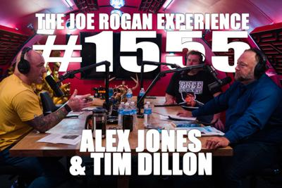 Cover art for #1555 - Alex Jones & Tim Dillon