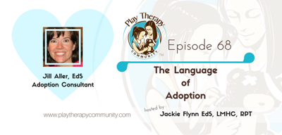 Cover art for 68: The Language of Adoption with Jill Aller, EdS
