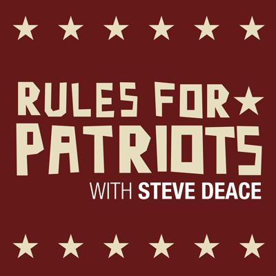 Steve Deace and his team break down the keys to how conservatives can take their country back. Rules for Patriots is different from any other podcast you have heard and is considered a key resource for conservative activists.