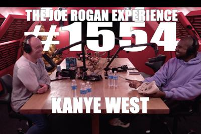 Cover art for #1554 - Kanye West