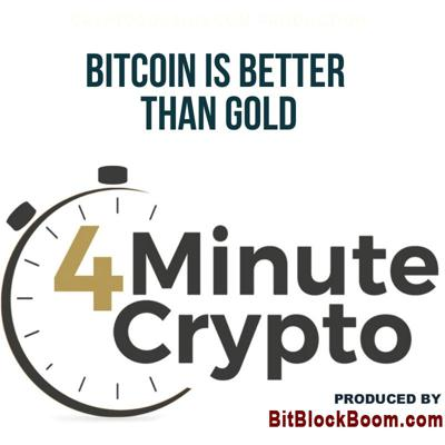 Cover art for Bitcoin is Better than Gold