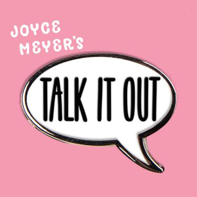 Joyce's Talk It Out podcast is a fun weekly Bible study with three friends in different stages of life who take Joyce's teaching and talk out real life application. It's fun, heartfelt, and so applicable. So, consider yourself one of the girls and let's talk it out together.