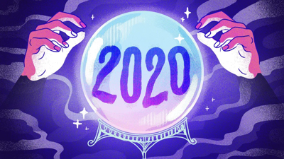 Cover art for D6G Pip 34: 2020 Predictions