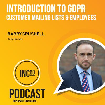 Cover art for Introduction to GDPR and Customer Mailing Lists