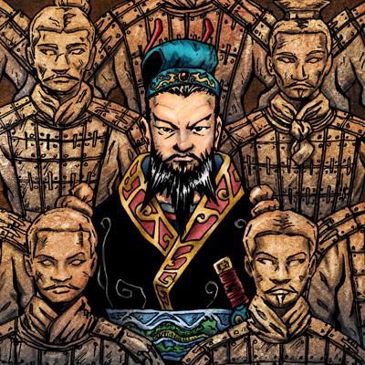 Cover art for Episode #110- Who Was The First Emperor of China? (Part I)