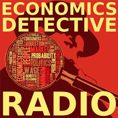 Economics Detective Radio is a podcast about markets, ideas, institutions, and all things related to the field of economics. Episodes consist of long-form interviews, and are generally released on Fridays. Topics include economic theory, economic history, the history of thought, money, banking, finance, macroeconomics, public choice, Austrian economics, business cycles, health care, education, international trade, and anything else of interest to economists, students, and serious amateurs interested in the science of human action. For additional content and links related to each episode, visit economicsdetective.com.