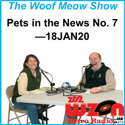 Cover art for Pets in the News No. 7