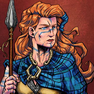Cover art for Episode #107- What Should We Believe About Boudica? (Part I)