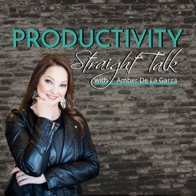 If you're a business owner who wants to power up your productivity, maximize your profits, and make time for what matters most, this podcast is for you!   Amber De La Garza, The Productivity Specialist gives you the straight talk on what it takes to be productive and grow your business. In addition to dishing out her own favorite productivity tips, tools, tech, and anecdotes, Amber interviews experts and business owners just like you about their top productivity techniques, productivity challenges, and how they overcame them to take their business to new levels.   Amber is a sought-after coach, trainer, and speaker for business owners who are eager to excel in business. She is passionate, direct and sometimes a little sarcastic but always gives you the Productivity Straight Talk you need to succeed!