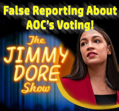 Cover art for Debunked Reporting about AOC's Voting!