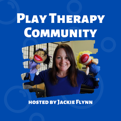 """This podcast was created to help parents around the world with the """"biggies"""" of family life.  Play Therapy Community will present a fresh, insightful episode once a week, usually on Thursday mornings. On this podcast, we will cover topics such as picky eaters, struggles in school, behavioral issues, grief and loss, and so much more.  We'll also delve into specific diagnosis such as ADHD, Autism Spectrum Disorder, Specific Learning Disabilities, Oppositional Defiant Disorder, etc.  Difficult topics, such as parenting through separation/divorce, depression, anxiety struggles, relationship struggles, and such will be explored as well. As the host of Play Therapy Community, I feel honored that you are joining us on this journey for knowledge to truly help our children in a way that honors their mind, body, and soul.  My name is Jackie Flynn, and I'm a Licensed Psychotherapist, Registered Play Therapist, Education Specialist, Adolescent Life Coach and a Parent Educator."""