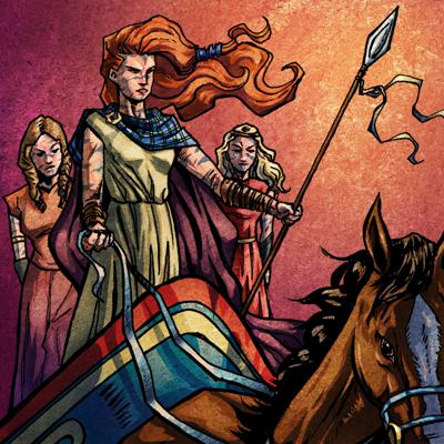 Cover art for Episode #108- What Should We Believe About Boudica? (Part II)