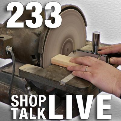 Cover art for STL233: The power of the disc sander