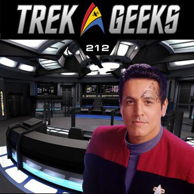 Cover art for 212 - Chakotay