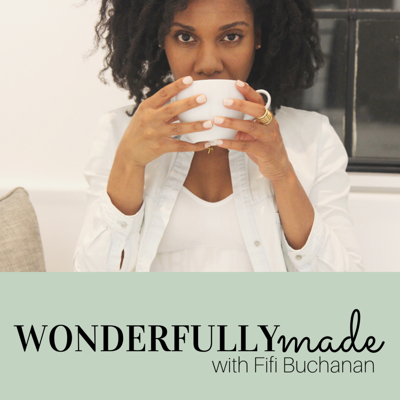 The Wonderfully Made podcast provides tips to live a more balanced and fulfilled life by improving daily habits, self reflection and pursuing wellness. Fifi Buchanan, the host is also ower of the brand The Divine Hostess.