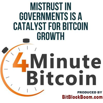 Cover art for Mistrust in Governments Is A Catalyst for Bitcoin Growth