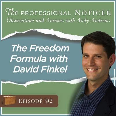 Cover art for The Freedom Formula with David Finkel