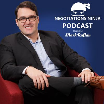 Negotiations Ninja Podcast is the number one negotiation podcast in the world. We develop and deliver the most engaging negotiation content on the planet.  We explore negotiation strategy, negotiation tactics, stories of negotiation failure and negotiation success. We host negotiation experts, business people, and entrepreneurs from all walks of life and discuss which negotiation tactics work, which negotiations tactics don't work and how we can improve our negotiation skills.