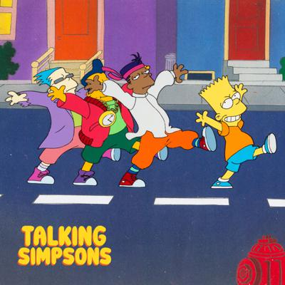 Cover art for Talking Simpsons - The Simpsons Sing The Blues With Alex Navarro