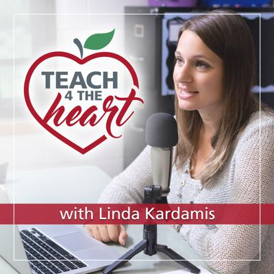 In the Teach 4 the Heart podcast, Linda Kardamis shares ideas and inspiration to help you overcome your teaching challenges and make a lasting difference in your students' lives.   Designed for Christian teachers in both public and private schools, Teach 4 the Heart strives to present every discussion from a Biblical perspective.  Season 1 will discuss classroom management. Future season's topics TBA but will likely include work/life balance, how our faith should affect our teaching, and more.