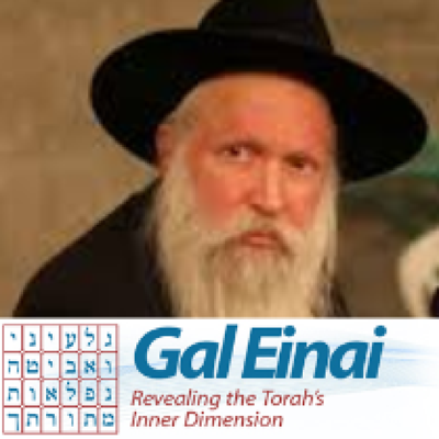 Gal Einal with Rabbi Yiztchak Ginsburgh