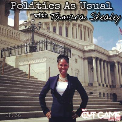 Cover art for #36  Politics As Usual with Tamara Shealey