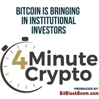 Cover art for Bitcoin Is Bringing In Institutional Investors