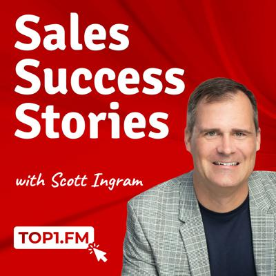 What are the best sales professionals doing to get to the top? In the Sales Success Stories podcast, Scott Ingram interviews and deconstructs world class sales performers to uncover their favorite sales books, habits, routines, strategies and tips. These salespeople are the A+ players among A players. If you're in B2B Sales, Enterprise Sales, SAAS Sales, selling professional services, serving as an account manager or otherwise interested in revenue growth there's something for you in these conversations. While created primarily for the individual contributor regardless of where they are in their sales career there's probably some value in here for you if you're a sales manager, sales leader or otherwise involved in revenue management, leadership or strategy. Learn more at Top1.fm