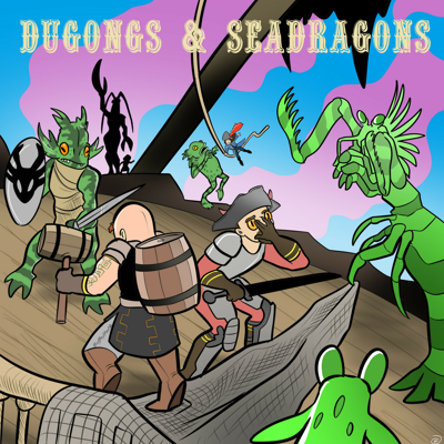 The time of heroes was over. It was a time for … not-quite-so-heroes ! Join Dugongs and Seadragons, a live gaming podcast featuring an international collection of nerdy-ass marine biologists playing  Dungeons and Dragons. They drink and they roll things!