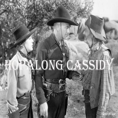 Hopalong Cassidy rode the radio air waves from 1950 to 1952. His popularity grew and grew, every time his show was heard. These radio shows, together with his movies and television shows helped make him one of the all-time most popular heroes of western fiction and cinema. His popularity continues to grow each year, as generations new and old delight in the classic tales of this American hero.