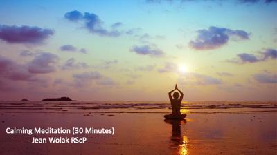 Cover art for Calming Meditation (30 Minutes)