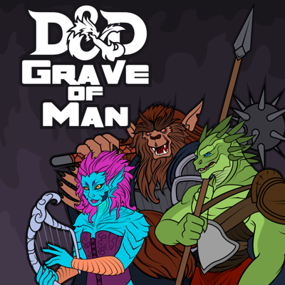 Three bumbling adventurers awaken in a flooded, ruined kingdom, surrounded by the shambling dead and several small armies filled with unsavory individuals. Will they manage to make it out, or will they be forever trapped in The Grave of Man?