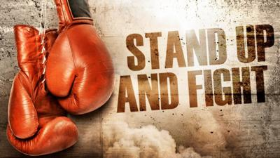 Cover art for Stand Up & Fight: Fight Above Your Weight